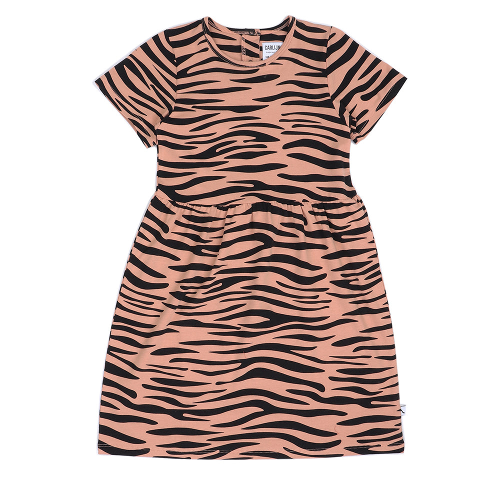TIGER -DRESS SHORTSLEEVED