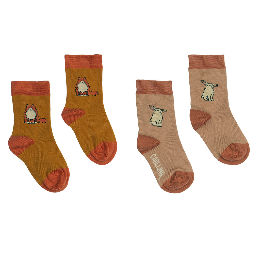 SOCKS - LOULOU + RABBIT SET OF 2