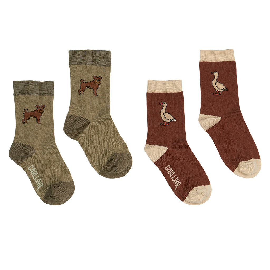 SOCKS - BORIS + GOOSE SET OF 2