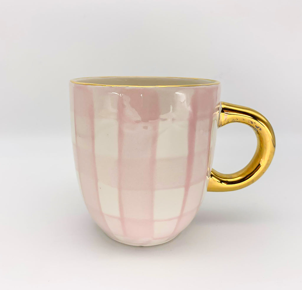 Checkered Mug with handle