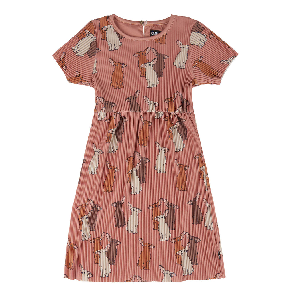 Rabbit - PLISSE DRESS SHORTSLEEVE