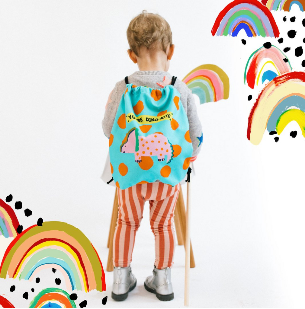 Double Sided Children's Dinosaur Bag