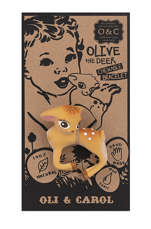OLIVE THE DEER Chewable Bracelet