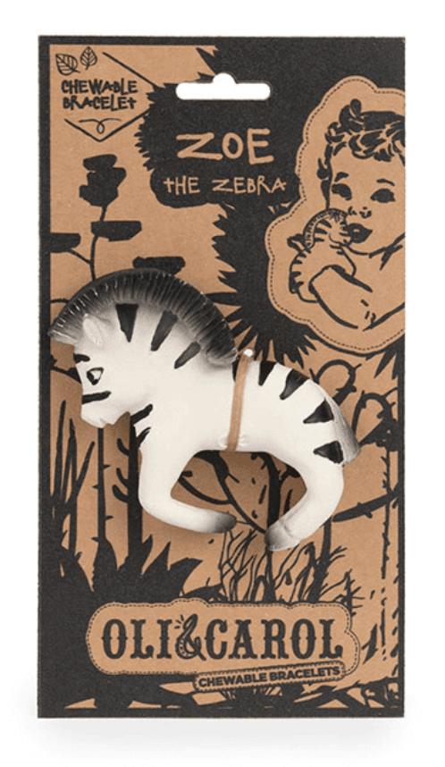 ZOE THE ZEBRA Chewable Bracelet