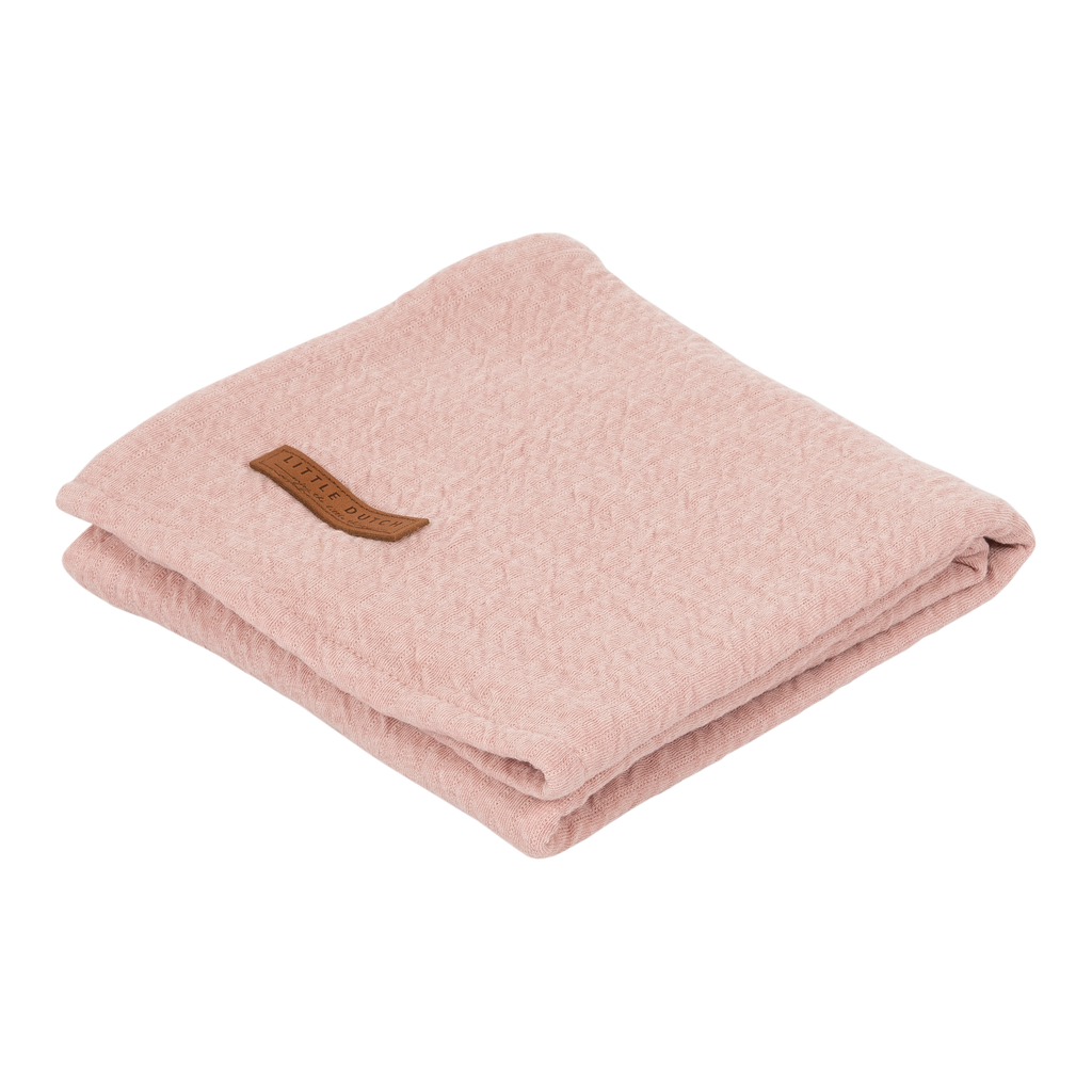 Swaddle Pure Pink 120x120cm