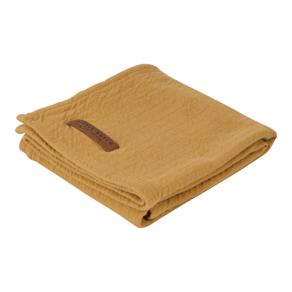 Swaddle Pure Ochre 120x120cm