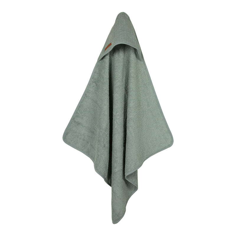 Hooded towel Mint