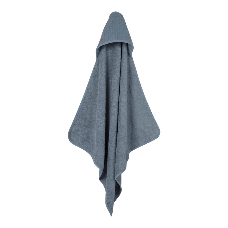 Hooded towel Blue
