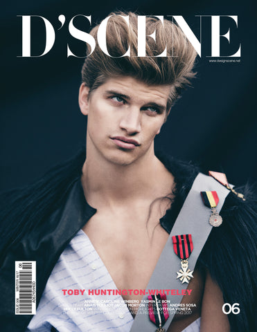 D'SCENE #006 FEATURING TOBY HUNTINGTON WHITELEY