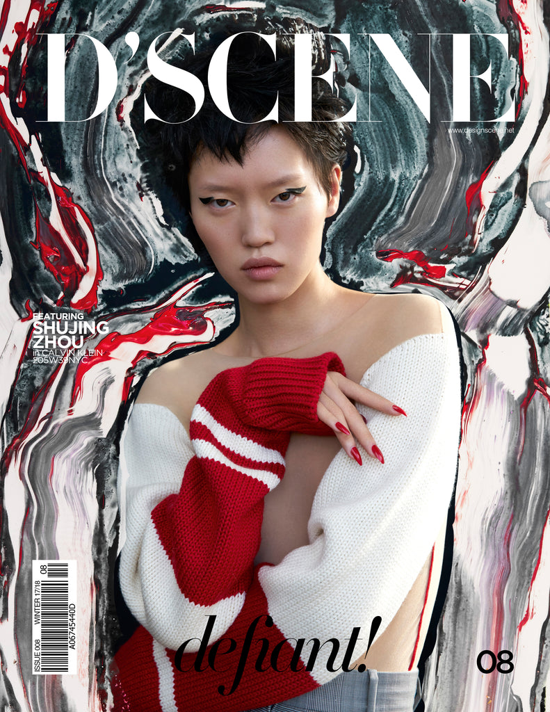 SHUJING ZHOU FOR D'SCENE MAGAZINE DEFIANT! ISSUE #008