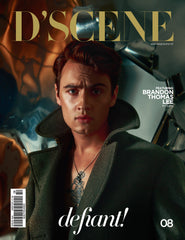 BRANDON THOMAS LEE FOR D'SCENE MAGAZINE DEFIANT! ISSUE #008