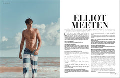 MMSCENE #025 STARRING ELLIOT MEETEN - 2nd COVER