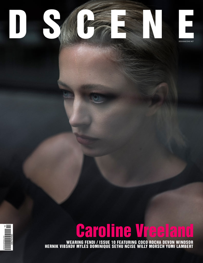 DSCENE ISSUE 10 - CAROLINE VREELAND COVER