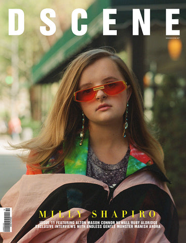 MILLY SHAPIRO FOR DSCENE MAGAZINE ISSUE #011