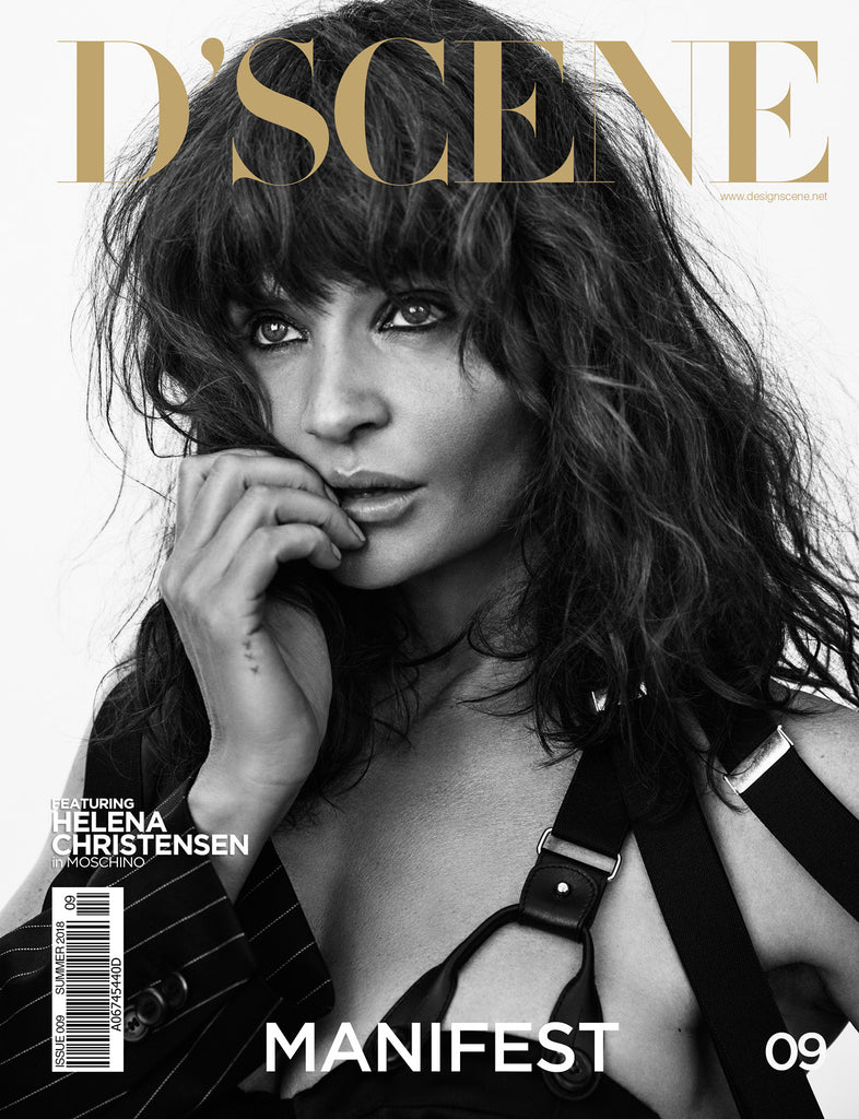 HELENA CHRISTENSEN FOR D'SCENE MAGAZINE MANIFEST! ISSUE #009