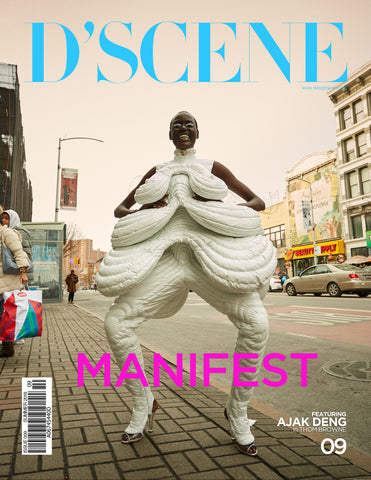 AJAK DENG FOR D'SCENE MAGAZINE MANIFEST! ISSUE #009