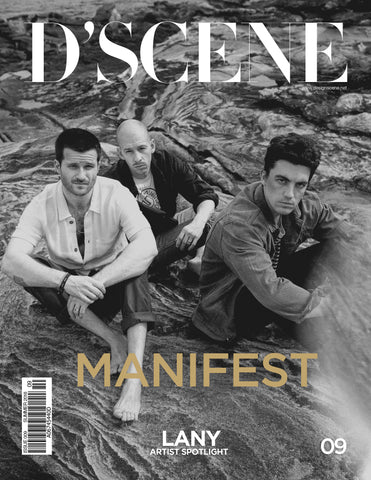 LANY FOR D'SCENE MAGAZINE MANIFEST! ISSUE #009