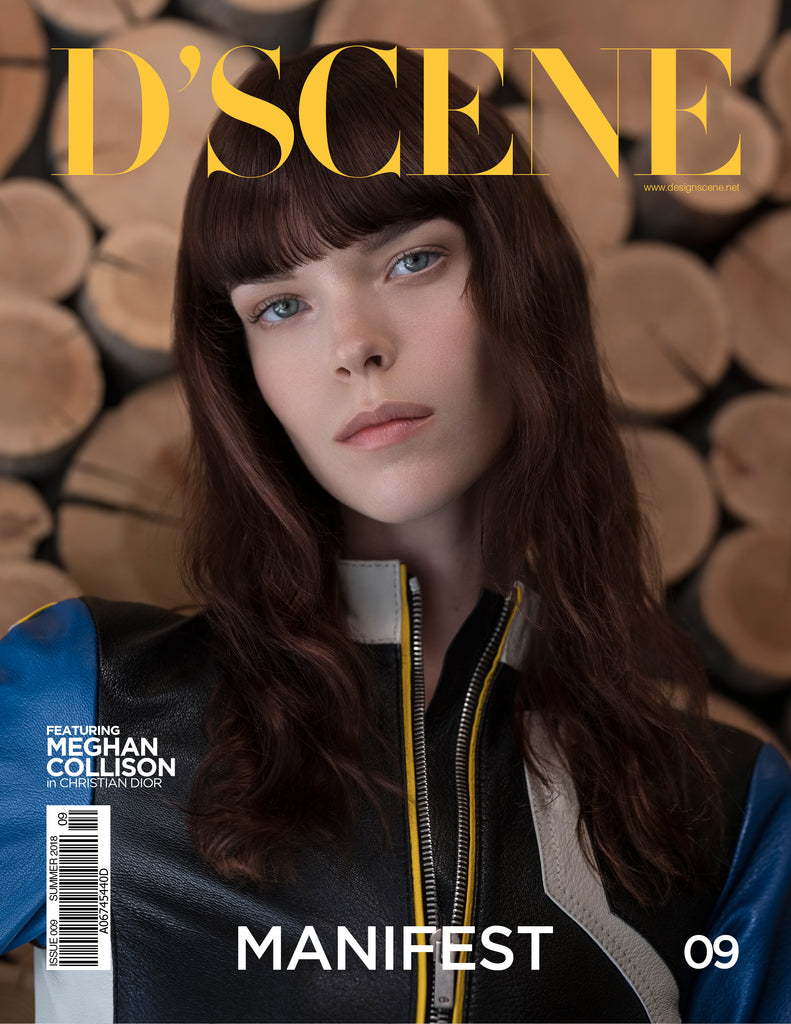 MEGHAN COLLISON FOR D'SCENE MAGAZINE MANIFEST! ISSUE #009