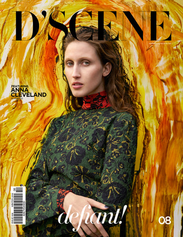 ANNA CLEVELAND FOR D'SCENE MAGAZINE DEFIANT! ISSUE #008