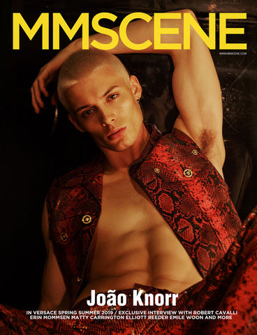MMSCENE #029 STARRING TOP MODEL JOAO KNORR
