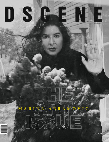 #PRE-ORDER: MARINA ABRAMOVIC for DSCENE MAGAZINE #014 - 2ND COVER - ART ISSUE - DIGITAL COPY