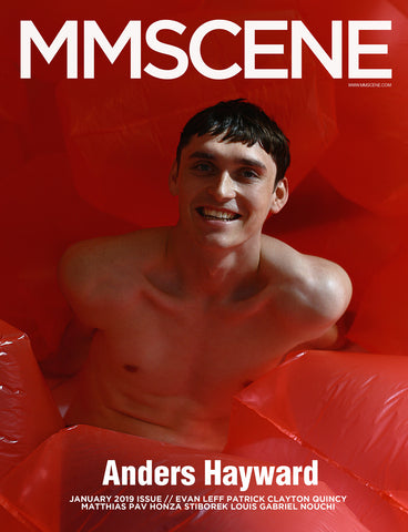 MMSCENE JANUARY 2019 ISSUE - ANDERS HAYWARD COVER