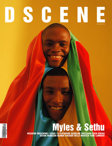 DSCENE ISSUE 10 - MYLES & SETHU COVER