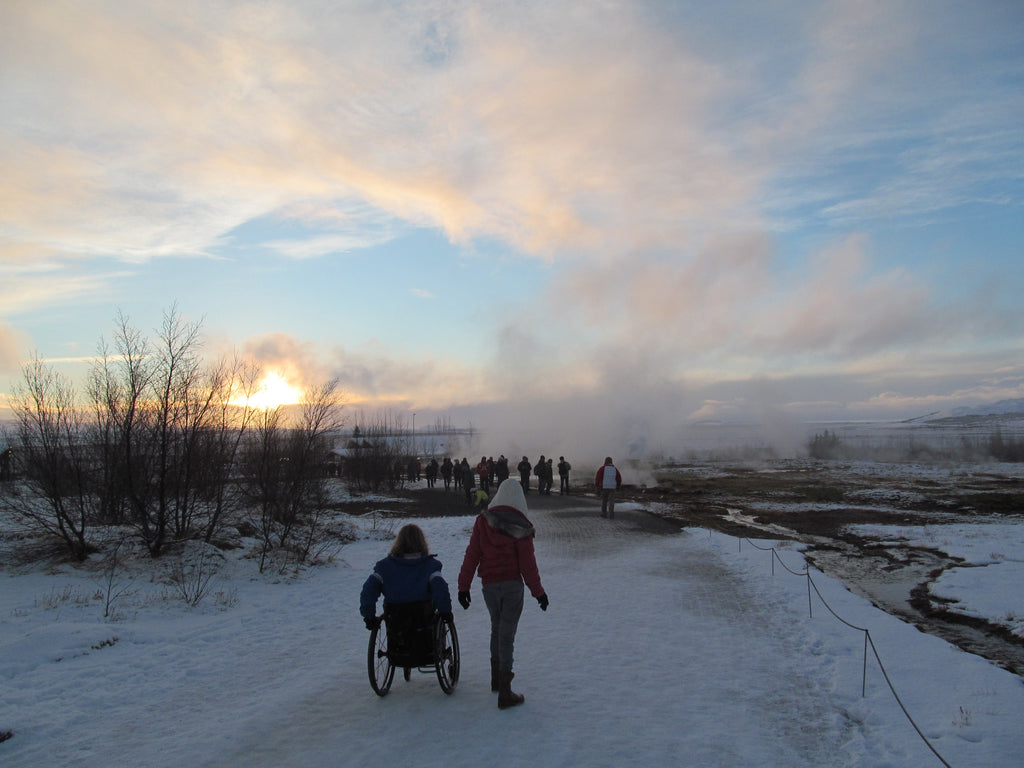 Guest Blog: Iceland…in a wheelchair…in December? Really?!