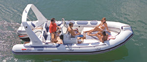 Valiant 620 115 HP - Timeless Boats Ibiza, best boat rental in Ibiza. Voted No1 Sunset Cruise