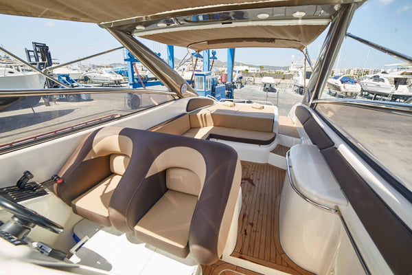 SUNSEEKER SUPERHAWK 48 - Timeless Boats Ibiza, best boat rental in Ibiza. Voted No1 Sunset Cruise