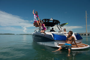 Full Day Cruise (Sports Boat) - Timeless Boats Ibiza, best boat rental in Ibiza. Voted No1 Sunset Cruise