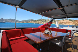 Yacht GUY COUACH - Timeless Boats Ibiza, best boat rental in Ibiza. Voted No1 Sunset Cruise