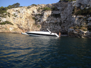 Sunseeker 46 (Full Day Cruise) - Timeless Boats Ibiza, best boat rental in Ibiza. Voted No1 Sunset Cruise