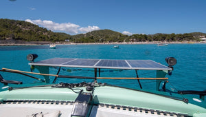 Solar Catermaran's - Timeless Boats Ibiza, best boat rental in Ibiza. Voted No1 Sunset Cruise