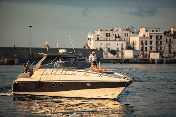 Sunseeker 46 (Extended Sunset Cruise) - Timeless Boats Ibiza, best boat rental in Ibiza. Voted No1 Sunset Cruise