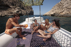 Speed/ Dive boat full day rental - Timeless Boats Ibiza, best boat rental in Ibiza. Voted No1 Sunset Cruise