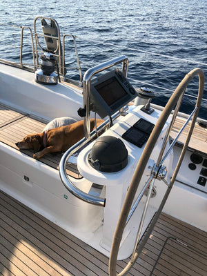 "Beveria 55"" Sunset Cruise - Timeless Boats Ibiza, best boat rental in Ibiza. Voted No1 Sunset Cruise"
