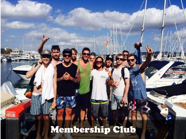 Membership Club (Summer & Winter) - Timeless Boats Ibiza, best boat rental in Ibiza. Voted No1 Sunset Cruise