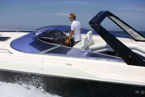 Sunseeker Thunderhawk 43 - Timeless Boats Ibiza, best boat rental in Ibiza. Voted No1 Sunset Cruise