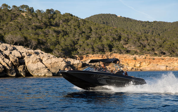 Sunset Plus (Sports Boat) - Timeless Boats Ibiza, best boat rental in Ibiza. Voted No1 Sunset Cruise