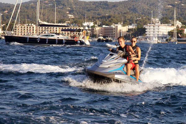 Yamaha VX Deluxe - Timeless Boats Ibiza, best boat rental in Ibiza. Voted No1 Sunset Cruise