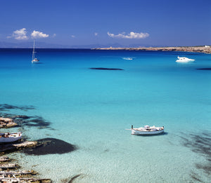 Formentera/Blue Marlin (Sports Boat) - Timeless Boats Ibiza, best boat rental in Ibiza. Voted No1 Sunset Cruise
