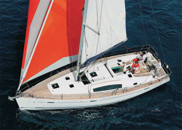 Oceanis 43 - Timeless Boats Ibiza, best boat rental in Ibiza. Voted No1 Sunset Cruise
