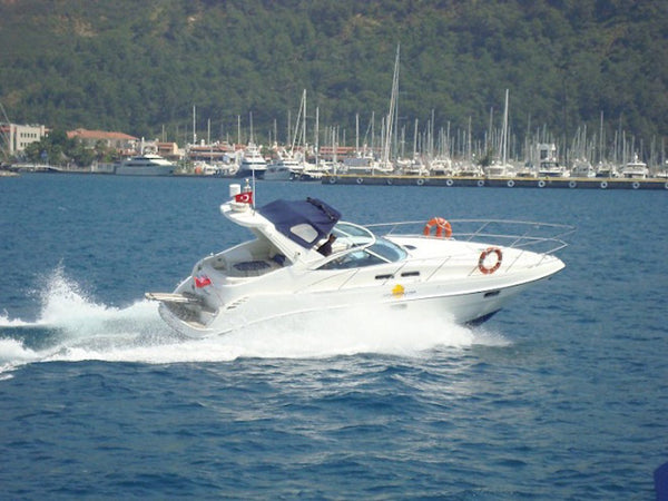 Sealine S34 - Timeless Boats Ibiza, best boat rental in Ibiza. Voted No1 Sunset Cruise