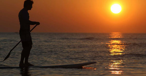 Paddle Surfing - Timeless Boats Ibiza, best boat rental in Ibiza. Voted No1 Sunset Cruise