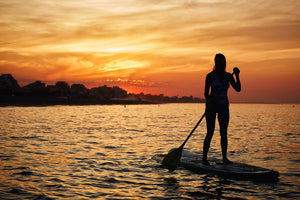 Paddle Surf - Timeless Boats Ibiza, best boat rental in Ibiza. Voted No1 Sunset Cruise