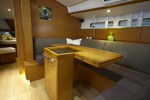 Jeanneau Sun Odyssey 439 - Timeless Boats Ibiza, best boat rental in Ibiza. Voted No1 Sunset Cruise
