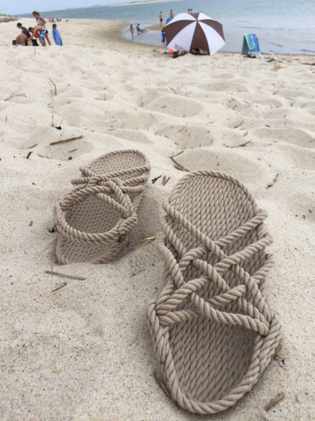 Women's Natural Rope Sandals