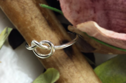 Infinity Sterling Ring