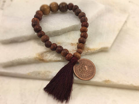 Authentic Tibetan Coin Mala